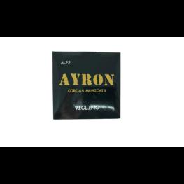 ENCORD. VIOLINO AÇO P/ VIOLINO - AYRON
