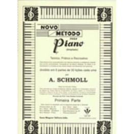 A. SCHMOLL - NOVO METODO PARA PIANO - 1A. PARTE