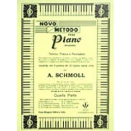 A. SCHMOLL - NOVO METODO PARA PIANO - 4A. PARTE