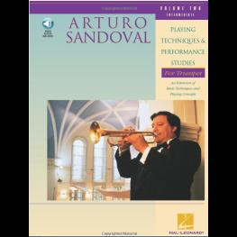 Técnicas de estudos E performance para trompete, vol. 2 (TROMPETTE)