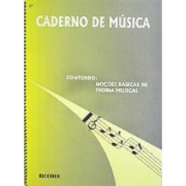 CADERNO DE MUSICA - RICORDI