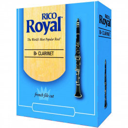 PALHETA CLARINETE CX. - RICO ROYAL