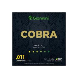 ENCORD. VIOLÃO AÇO BRONZE - GIANNINI COBRA 85/15 GEEFLK - 011