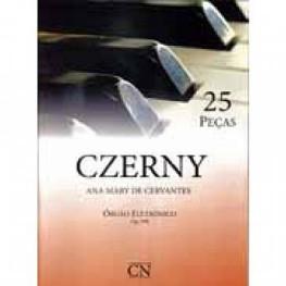 CZERNY-ANA M. CERVANTES - VOL. 1 - 25 PEÇAS C/ PEDALEIRA