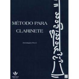 DOMINGOS PECCI - METODO PARA CLARINETE - 185M