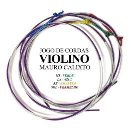 ENCORD VIOLINO  + 5 CORDAS MI AVULSAS - MAURO CALIXTO
