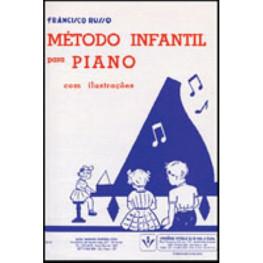 FRANCISCO RUSSO - METODO INFANTIL PARA PIANO