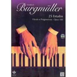 FRIEDRICH BURGMULLER - 25 ESTUDOS - OP. 100 CD