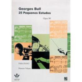 GEORGES BULL 25 PEQUENOS ESTUDOS - OP. 90 - 1º V.