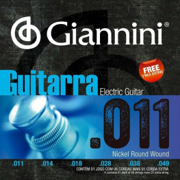 ENCORD. GUITARRA - GIANNINI GEEGST11 011