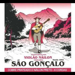 ENCORD. VIOLÃO NY - SÃO GONÇALO TENSÃO MÉDIA IZ154