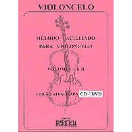 METODO FACILITADO PARA VIOLONCELO VOL. I E II CD/DVD