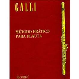 METODO FLAUTA TRANSVERSAL GALLI - RB0816