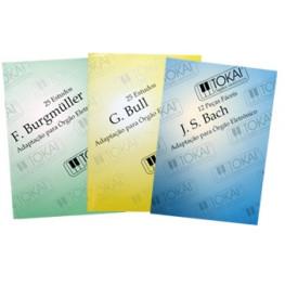 KIT METODOS - TOKAI  BURGMULLER/ BULL/ BACH