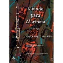 NABOR PIRES CAMARGO - METODO PARA CLARINETE - 110M