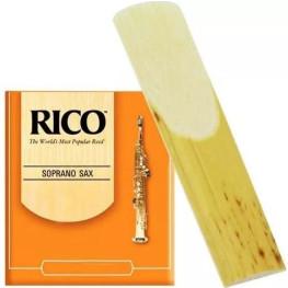 PALHETA SAX SOPRANO - RICO REEDS RJA (UNIDADE)