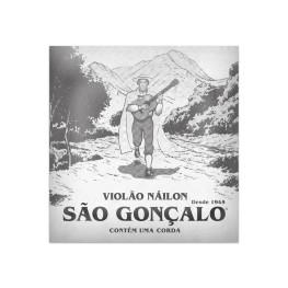 06 CORDAS SOL (3ª) EM NYLON PARA VIOLÃO - SÃO GONÇALO