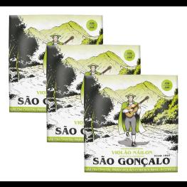 03 ENCORD. VIOLÃO NY - SÃO GONÇALO TENSÃO PESADA 11040