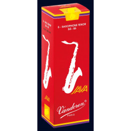 PALHETA SAX TENOR CX. - VANDOREN JAVA RED