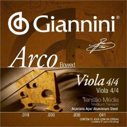 ENCORD VIOLA T. MÉDIA ALUMINIO- GIANNINI GEAVOA